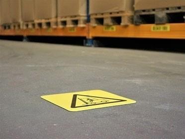 Podlahové piktogramy