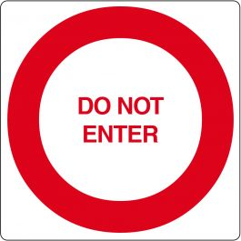 """Do Not Enter"" sticker (Maxi-Loka Premium)"