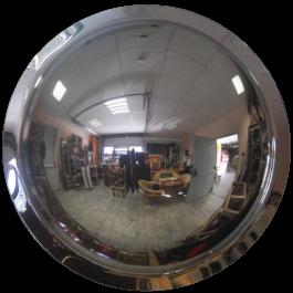 360° konvexní zrcadlo