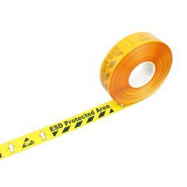 Páska s varováním před elektrostatickým výbojem
