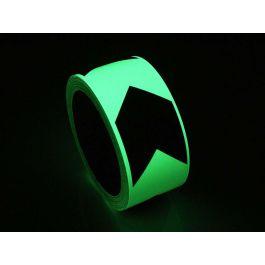 Fotoluminiscenční páska s ukazatelem směru