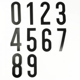 Sada magnetických čísel (0 až 9)