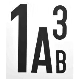 Magnetická písmena a čísla (za kus)