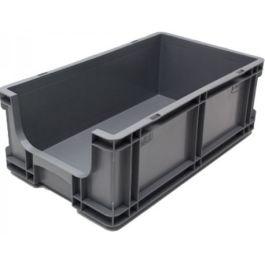 Rovnostěnný box 260x505x165 mm s otevřeným předkem