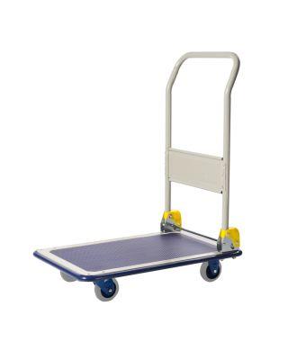 Skládací ocelový plošinový vozík Prestar, nosnost 150 kg
