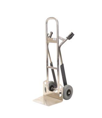 Hliníkový ruční vozík Matador NST300CT se skluzem na schodiště; nosnost 350 kg