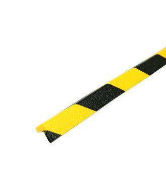 PRS rohový chránič, model 45 – žluto-černý – 1 metr