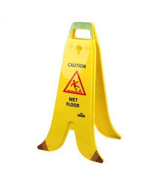 Skládací banánový stojan pro vlhké podlahy