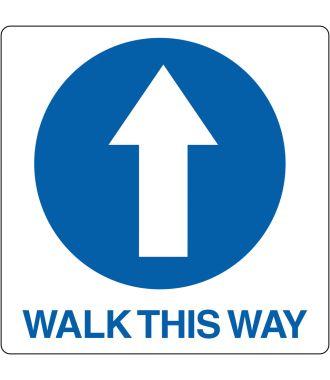 "Podlahový piktogram ""Walk This Way"""