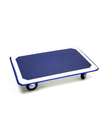 Ocelový plošinový vozík, nosnost 300 kg