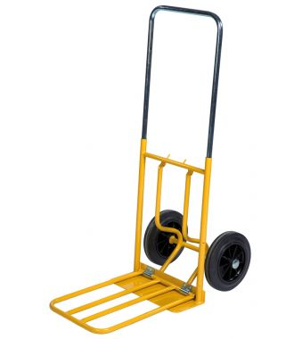 Ruční vozík Kongamek se sklápěcí nakládací plošinou, nosnost 150 kg