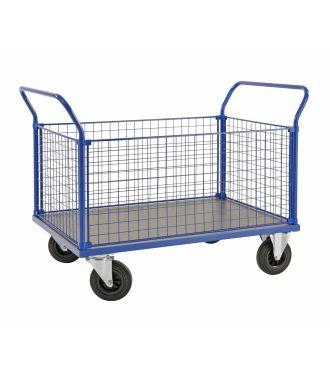 Drátěný vozík Kongamek, nosnost 500 kg