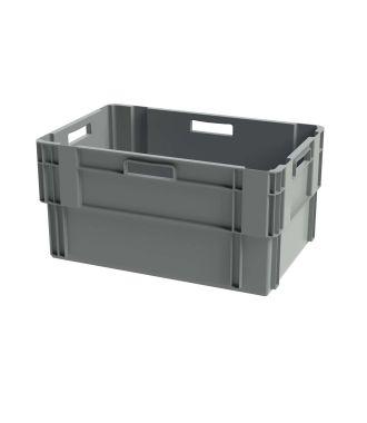Stohovatelný kontejner Euronorm, 400x600x300 mm