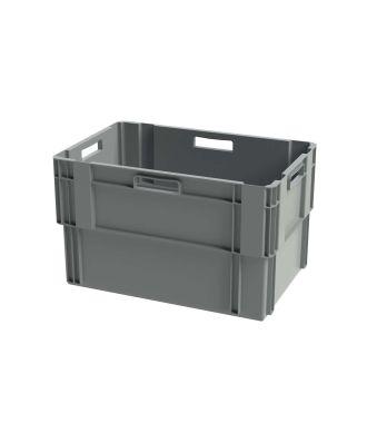 Stohovatelný kontejner Euronorm, 400x600x360 mm