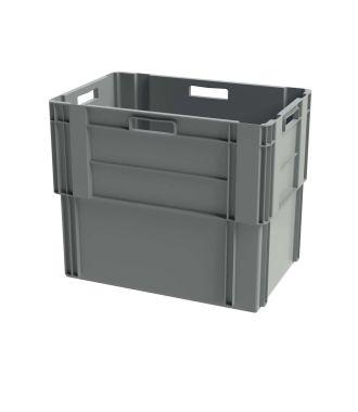 Stohovatelný kontejner Euronorm, 400x600x500 mm