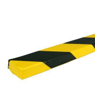 PRS chránič rovných ploch, model 43 – žluto-černý – 1 metr