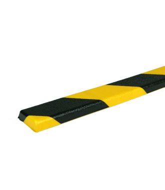 PRS chránič rovných ploch, model 44 – žluto-černý – 1 metr