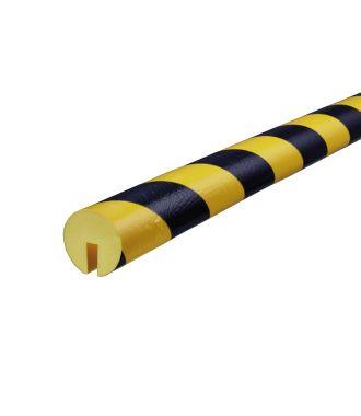 Pěnový chránič hran Knuffi, typ B – žluto-černý – 5 metr