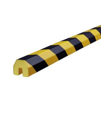 Pěnový chránič hran Knuffi, typ BB – žluto-černý – 5 metr