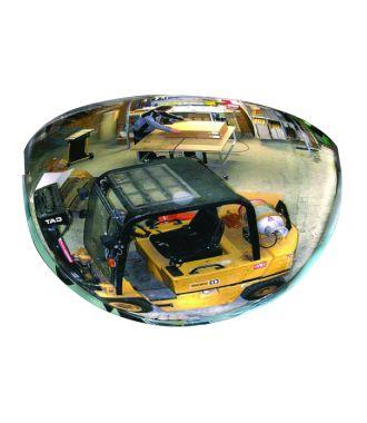 Vypouklé zrcadlo – polovina kopule (180°)