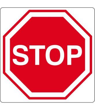 "Podlahový piktogram ""Stop"""