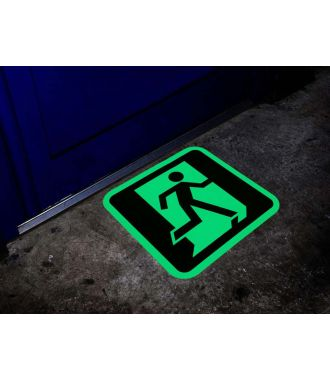 Fotoluminiscenční značení nouzového východu