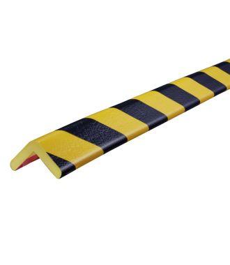 Pěnový chránič rohů Knuffi, typ H – žluto-černý – 5 metr