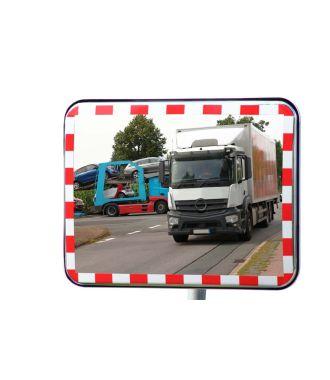 Dopravní zrcadlo UNI-SIG s odrazkami