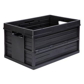Skládací krabice Evo Box – 46 litrů, černá