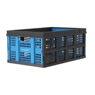 Skládací krabice – 49 litrů – modrý a černá