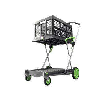 Clax trolley + 1 folding crate