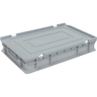 Víko pro rovnostěnný Eurobox 400x600 mm