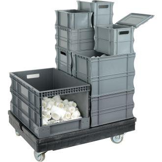 Rovnostěnné plastové boxy