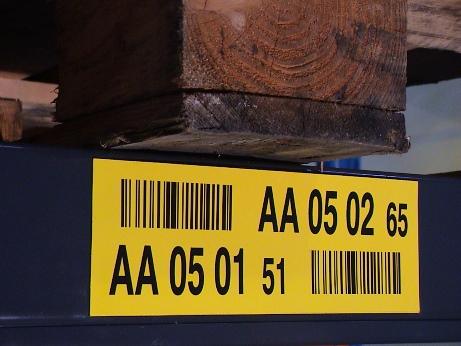 Kontrolní číslo na lokačním štítku